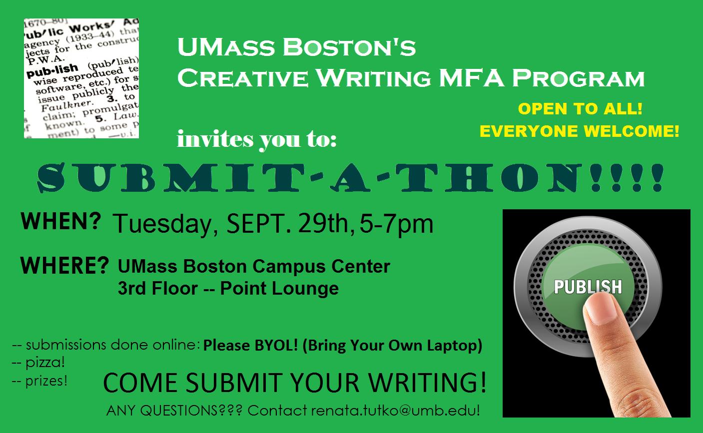 boston university mfa creative writing apply